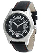Q&Q Analog Black Dial Men's Watch - A186J305Y