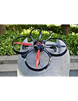 Big Size Drone Flying Quadcopter, 2.4G, 100 Mtr Range, Perform Stunts, Toy Gift