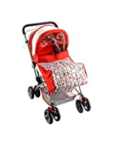 Mee Mee MM26 Baby Pram (Red)