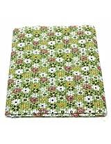 8pcs 40x50cm Cotton Green Flower Sewing Fabric Dolls Purse Handwork DIY Patchwork Cloths