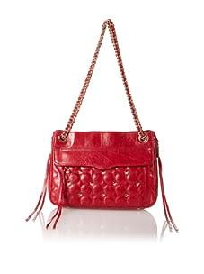 Rebecca Minkoff Women's Swing Shoulder Bag, Red