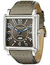 Stuhrling Original Men's 149C.BEH.3315N54 Leisure Manchester Ozzie Automatic Day and Date Grey Watch