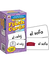 CARSON DELLOSA FLASH CARDS EVERYDAY WORDS IN (Set of 6)