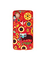 Chumbak Fox in The Garden Case for Nexus 5 (Multicolor)