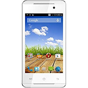 Micromax Canvas Fire A093 (White-Silver)