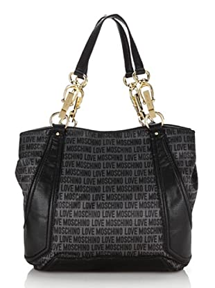 Love Moschino Shopping antracite/nero