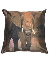 Twisha Elephant Pillow 12 X 12 X 4 Inch