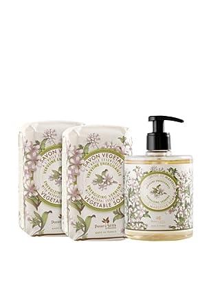 Panier des Sens 3-Piece Energizing Verbena Liquid Soap and Vegetable Soaps