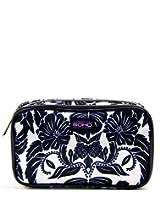 SOHO Royal Tea Double Zip Organizer Cosmetic Bag
