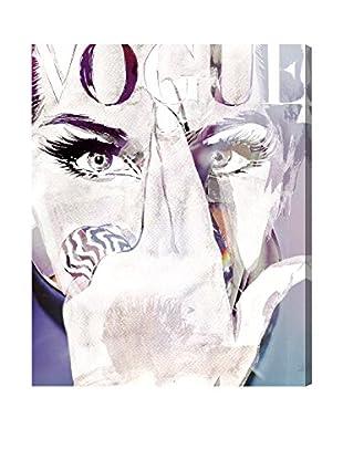 Oliver Gal Violet Wave Canvas Art