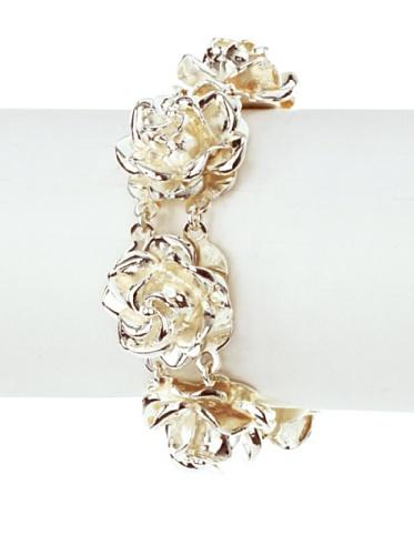 Tuleste Market Rosette Bracelet, Silver