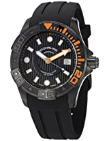 Stuhrling Original Analog Black Dial Men's Watch - 718.04