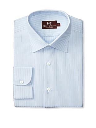 Hickey Freeman Men's Dress Shirt (Blue)