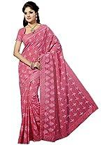 Sthri pink party wear designer georgette sari(A4Shri5027, Pink)