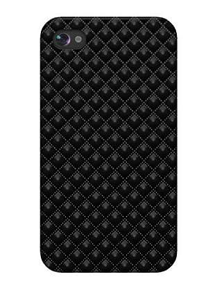 Blautel iPhone 4/4S Carcasa Protectora Rombos Negro