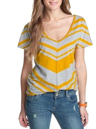ESPRIT SPORTS Camiseta Iván (Amarillo)