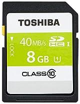 Toshiba 8GB SD Card Class 10 40MB/s (PFS008U-2DCK)