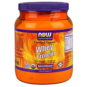 Now Sports Organic Whey Protein