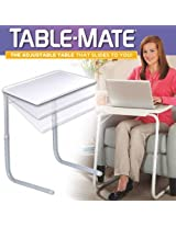 ORIGINAL TABLE MATE ADJUSTABLE DINNER CUM LAPTOP TRAY WITH CUP HOLDER