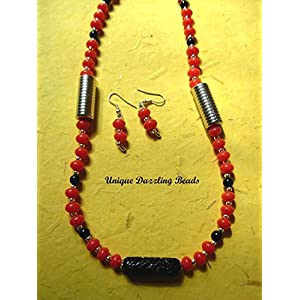 Unique Dazzling Beads Simply Red