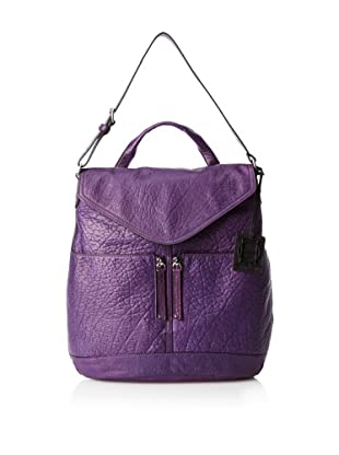 OH by Joy Gryson Women's Unzipped Flap Hobo (Grape)
