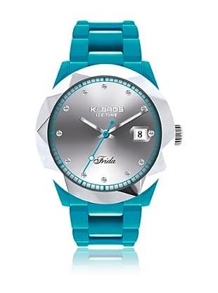 K&Bros  Reloj 9555 (Turquesa)