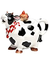 Appletree Design Barn Yard Cow Teapot, 6 3/4-Inch
