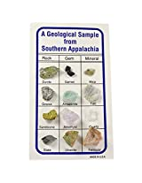 Fantasia Collection: A Geological Sampling From Southern Appalachia On An Identification Card Set #14 Educational Natural Rock, Fossil, Gemstone & Mineral Specimens For The Classroom