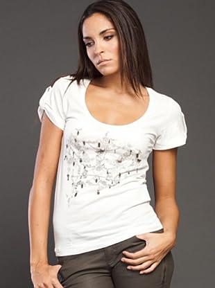 Ikks Camiseta Letras (blanco)