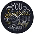 Giftsmate You Are My Sunshine Wall Clock for home, living room
