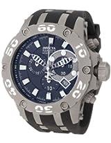 Invicta Watches, Men's Subaqua/Reserve Chronograph Black Dial Black Polyurethane, Model 0920