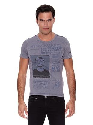 Pepe Jeans London Camiseta Popper (Gris)