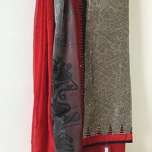 Fashioniista Chanderi Charisma - Dress Material