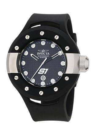 Invicta 1942 - Reloj de Caballero cuarzo poliuretano Negro
