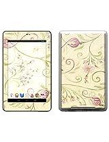 Decal Girl Skin Kit for Google Nexus 7 Tablet - Tulip Scroll (GN7T-TSCROLL)