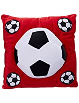 Archies Soft Toy Football Cushion, Multi Color (35Cm)