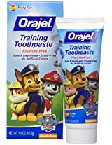 Orajel Paw Patrol children learn to be swallowed toothpaste 42.5g