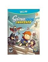 Warner Bros Scribblenauts Unmasked Action/Adventure Game Wii U / 1000383249 /