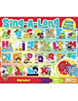 MasterPieces Alphabet Song Sing-A-Long Sound Jigsaw Puzzle, 24-Piece