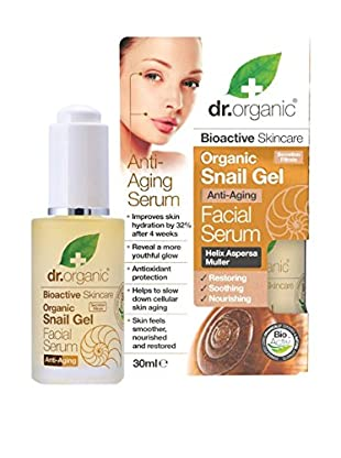 Dr Organic Siero Viso Snail 30 ml