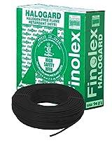 Finolex 6.0-Sqmm Halogen Free Flame Retardant Cable (Black)
