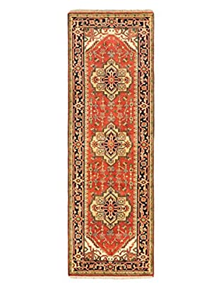 Hand-Knotted Serapi Heritage Wool Rug, Copper, 2' 7