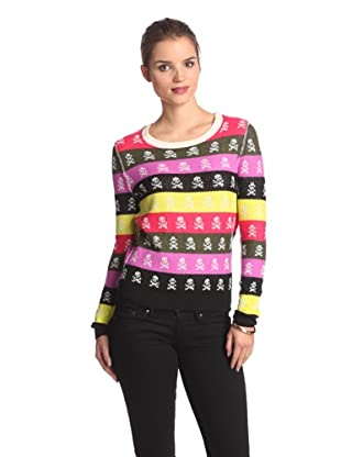 Shae Women's Long Sleeve Crew Neck Sweater (Multi-color)
