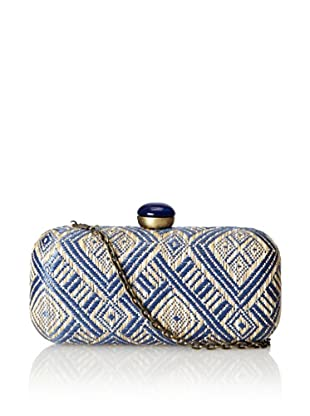 Urban Expressions Women's Malibu Clutch, Blue