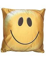 Twisha Smile Pillow 12 X 12 X 4 Inch