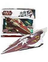 Star Wars Clone Wars Star fighter Vehicle - Ahsoka Tano's Jedi Starfighter