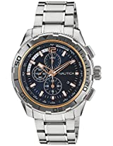 Nautica Sports Chronograph Navy Dial Men's Watch - NAI24500G