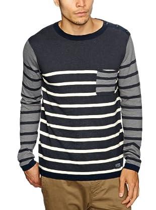 Cottonfield Sweatshirt (Blau/Grau)