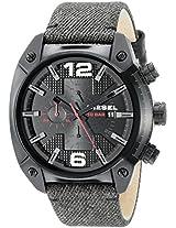 Diesel Overflow Chronograph Black Dial Men's Watch - DZ4373