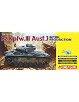Dragon 1/35 Panzer III Ausf.J, Initial Production Smart Kit